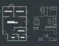 38㎡小户型 却装出了极具美感的两室一厅