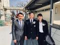组图:日乒小将张本智和初中毕业 学业赛场两不误