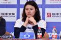 高清:刘湘出席泳联发布会 害羞托腮笑容甜美