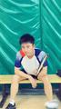 """贾乃亮打羽毛球自称""""高手"""" 这姿势你给几分?(图)"""