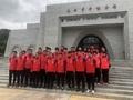 组图:国乒开展爱国主义教育 开启东京奥运备战