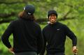 PGA锦标赛次日伍兹领衔训练备战心情大好 出席发布会