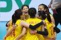 瑞士女排精英赛小组战 中国队一波三折力克德国队