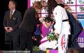 跆拳道世锦赛郑姝音遭受争议判罚屈居亚军 颁奖台悲愤哭倒在地