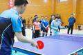 组图:奥运冠军郭跃甘肃之行助力消费扶贫 与球迷切磋乒乓球