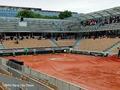组图:法网5日比赛受下雨影响全部延期
