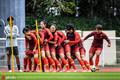 高清:中国女足备战世界杯次战 玩团团抱氛围好