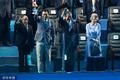 组图:游泳世锦赛盛大开幕 韩国总统出席