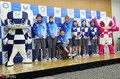 高清:东京奥组委公布志愿者服装 蓝色主色调彰显民族精神