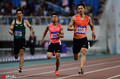 高清:2019田径世锦赛选拔赛 谢震业200米夺冠赛后心情大好