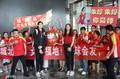 高清:中国女排离开北仑修整备战 热情球迷聚集送行