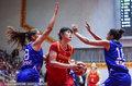 女篮热身赛大胜希腊三连胜夺冠