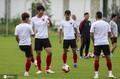 高清:天津天海公开训练 队员嬉戏打闹气氛和谐