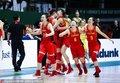 中国女篮力战世界杯亚军