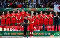 女篮亚洲杯颁奖仪式:中国获银牌