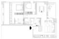 冷雾灰+深棕木 79.2㎡单身公寓展现不一样气质