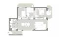 91㎡简约风小户型三居室 房型优化后太实用了