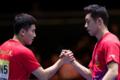 世界杯马龙缺阵 中国男乒3-0日本打进决赛