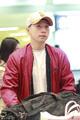 高清:国乒团体世界杯载誉归来 马龙丁宁领衔抵达机场