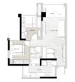 69㎡两室 小房子装扮出舒适优雅的情趣气质