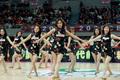 高清:篮球宝贝现场助威 婀娜舞姿秀性感身材