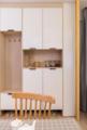67㎡简约又精致两居室 时尚贴心的设计让家更暖心