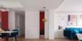 120㎡三室冷暖色调碰撞 打造个性鲜明的家