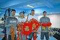 高清:新疆队拜年写真 阿不都领衔为球迷送祝福