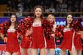 高清:篮球宝贝现场助威主队 短裙热舞点燃全场