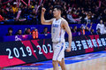 高清:新疆男篮主场胜上海 阿不都单手握拳庆祝
