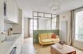 31㎡一字型小公寓 抹茶绿透明隔断自然又温馨