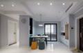 116㎡三居室灰色调+木质造型+舒适软装 清新文艺