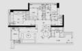 118㎡美式混搭三居室 灰白色的干净利落尽显档次