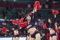 高清:篮球宝贝热舞助威主队 超短裤凸显性感身材
