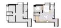 63㎡二居室次卧改成开放式榻榻米 空间更显宽敞
