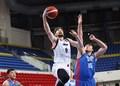 高清:日本男篮大胜中国台北 新归化外援首秀