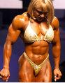 女子健美运动员