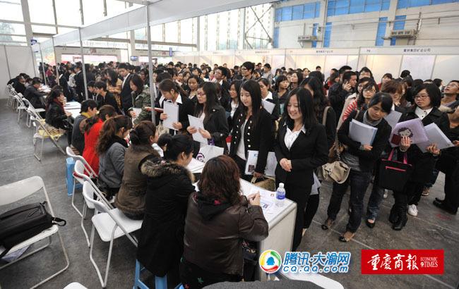 双选会首场6000余岗位吸引学生8000多人图片