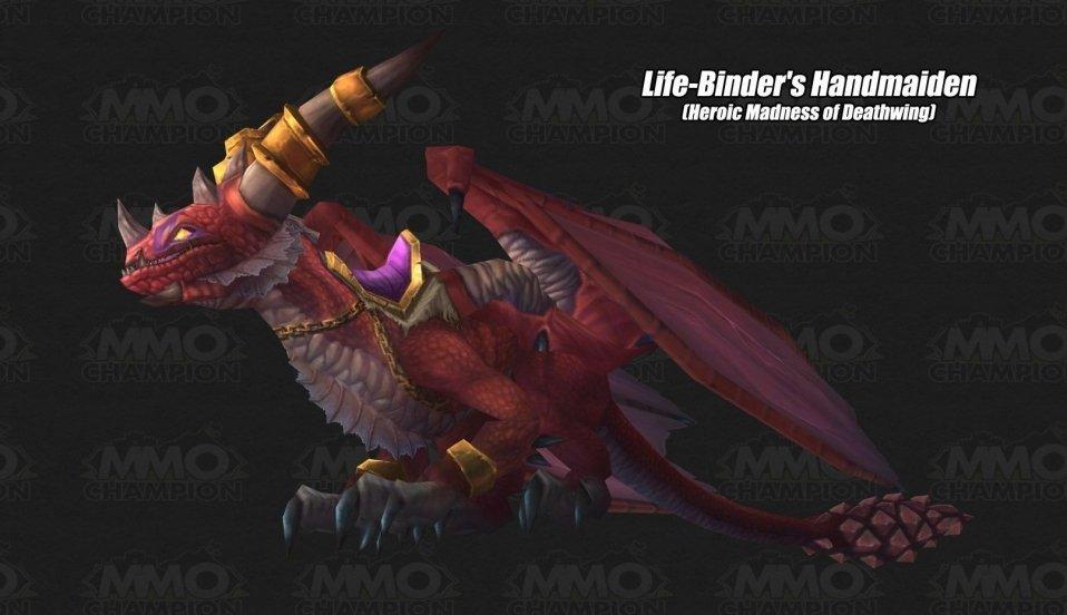 多彩龙坐骑-疑似为英雄难度巨龙之魂全部boss首杀