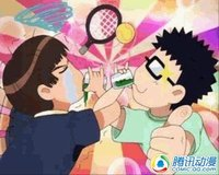 毫无违和感的网球王子雷人恶搞图