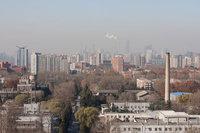 组图:北京同一地点观测空气质量14天 污染惊人