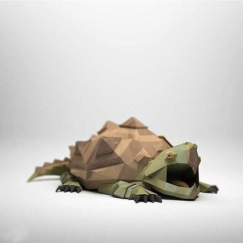 栩栩如生的纸折动物