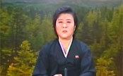 朝鲜著名女播音员播报金正日逝世消息