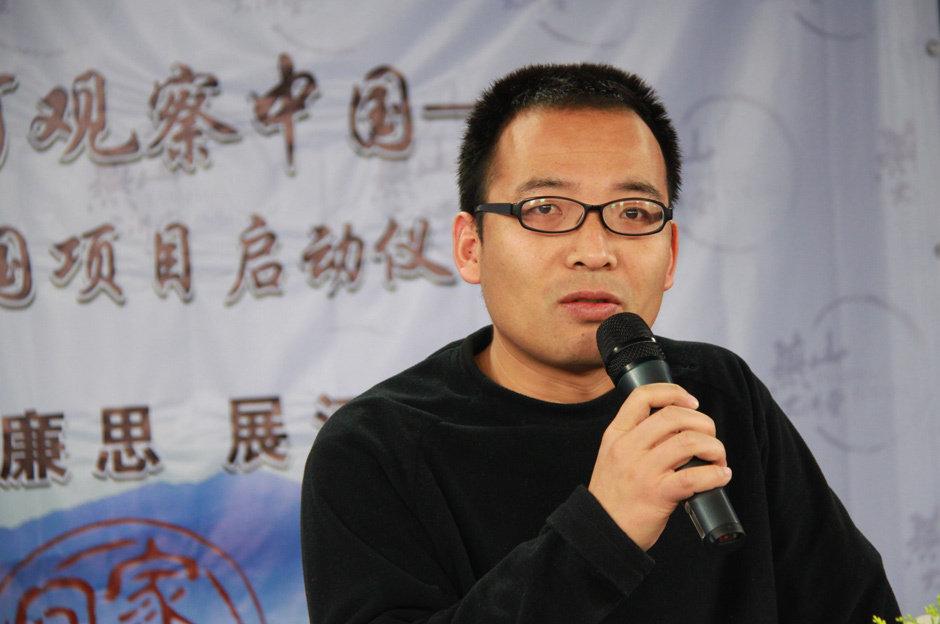 李玉霄老师宣布回家看中国项目启动