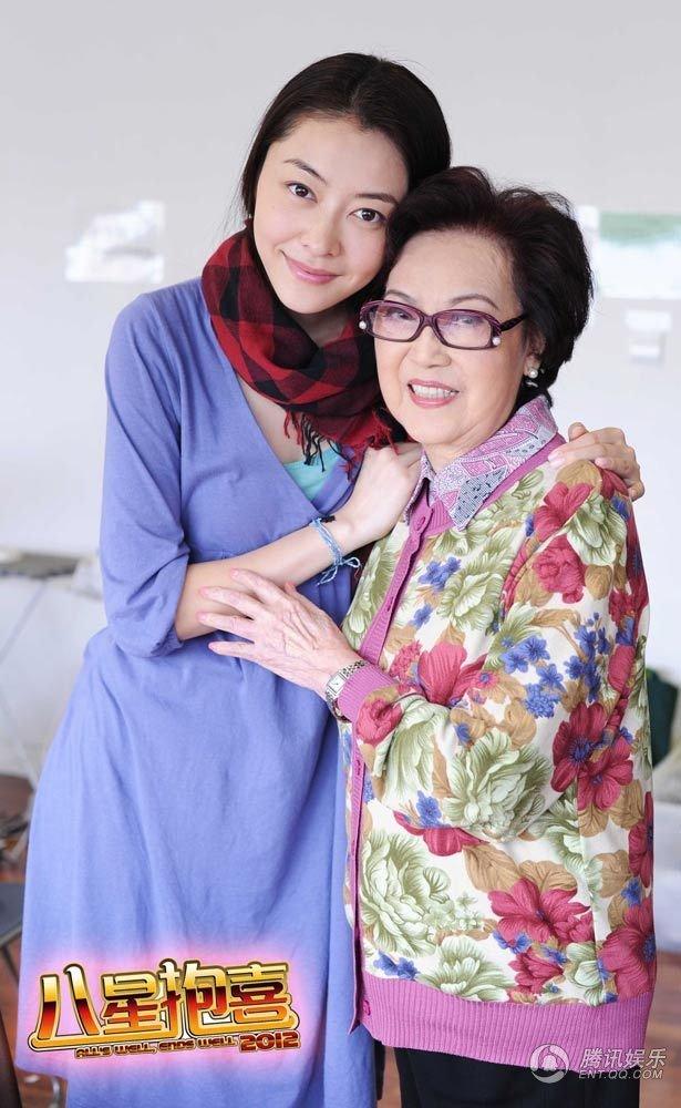 熊黛林和李香琴情同母女
