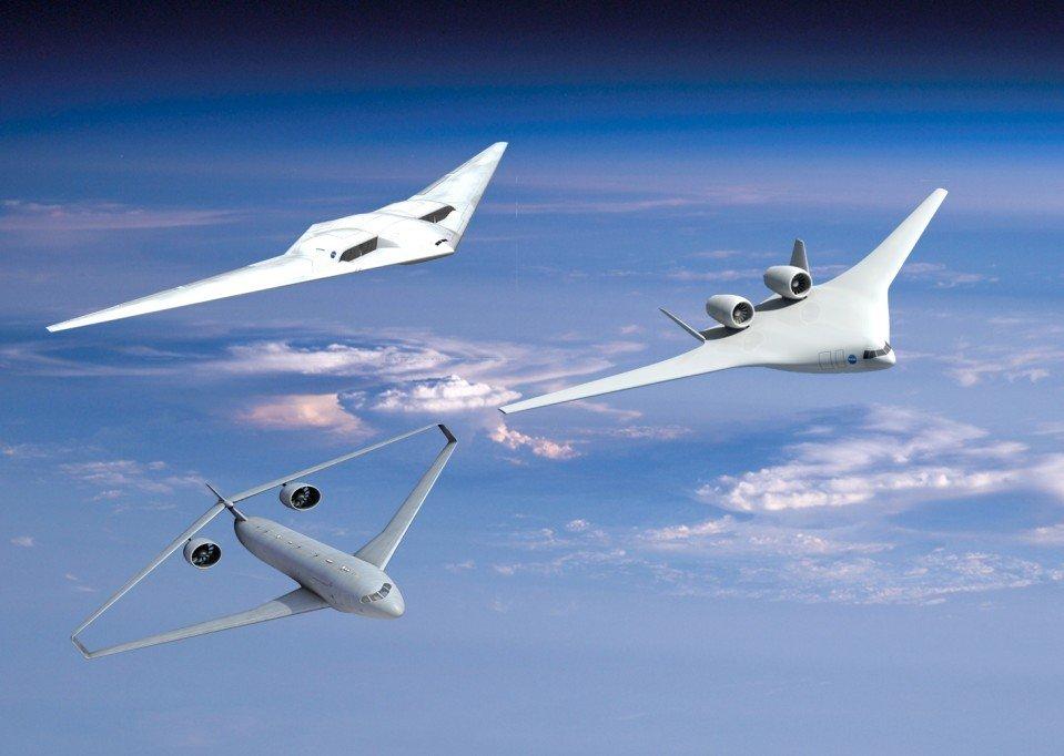 美国宇航局设计出未来概念飞行器(图)