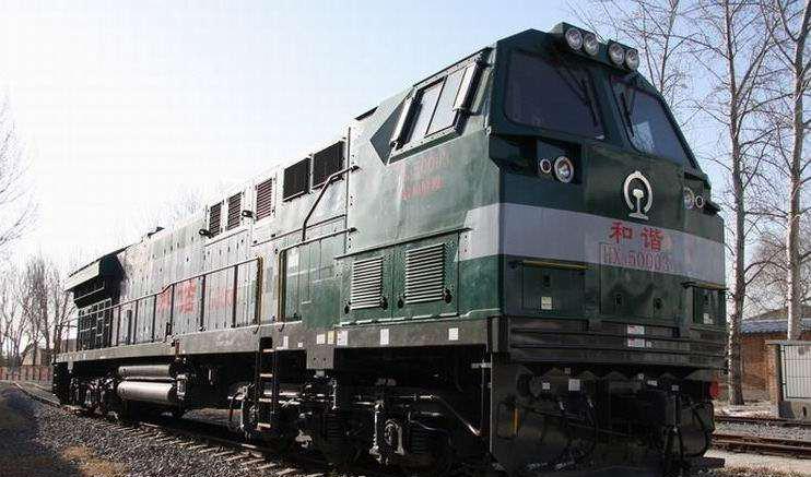 和谐内五型内燃机车HXN5 HXN5型柴油内燃机车,是中国铁路的干线