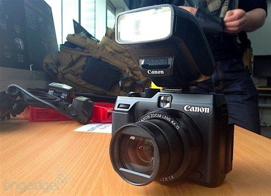 香港售价公布 佳能旗舰相机G1X真机体验