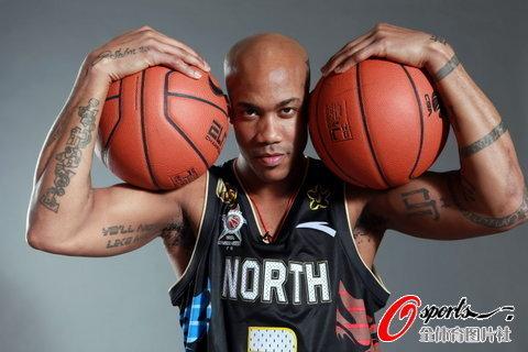 全明星写真 霸气马布里领衔小布亮肌肉-街头篮球