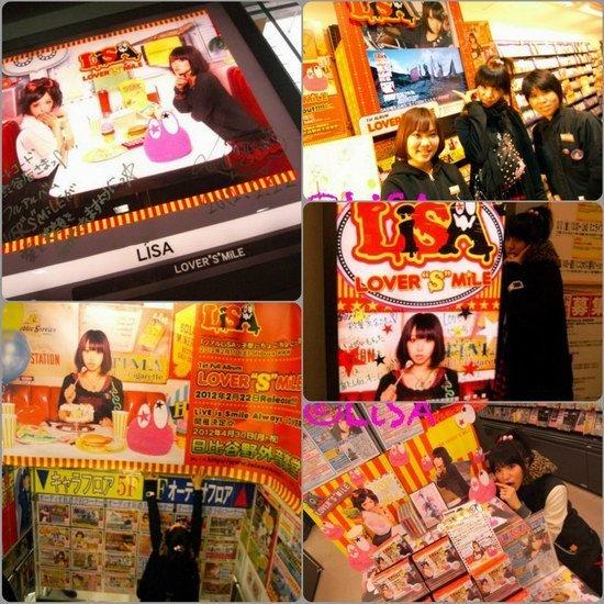 日本人气女歌手LiSA首张大碟发售